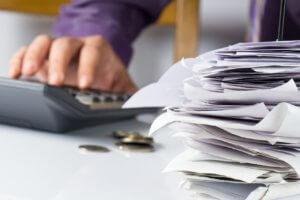 pagamento de contas