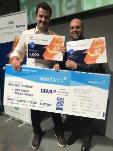 (Marcelo França, CEO e Adriano Meirinho, CMO do Celcoin)
